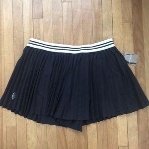 Free People pleated black shorts